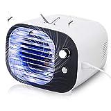 Janolia Lampe UV Plug and Play avec lumière de nuit réglable pour chambre, bureau, camping