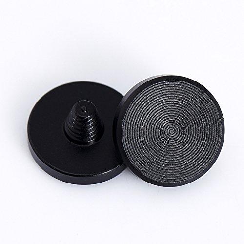 1X Leica Fujifilm X100 X10用 カメラリリースシャッターボタン ブラックフラット