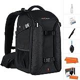 K&F Concept Professional Camera Backpack,15.6' Laptop Large Capacity Waterproof Nylon Photography Bag for DSLR Cameras,Tripod,Lenses