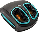 Shiatsu Foot Massager Machine with Heat - Electric Deep Kneading...