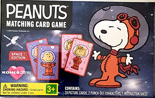 Peanuts Matching Card Game: Space Edition