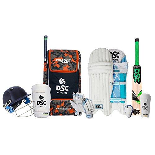 DSC Premium Complete Kit with Helmet Cricket Kit Size 6
