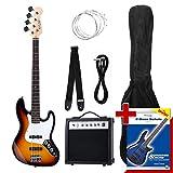 Rocktile Groovers - Pack bajo eléctrico JB, sunburst