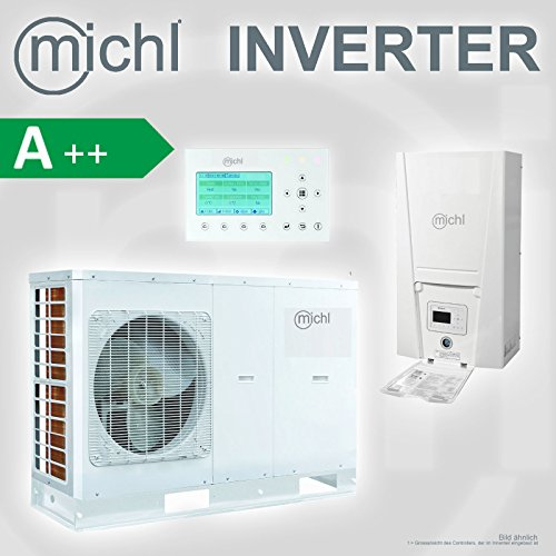 Michl Inverter Pompe à chaleur air/eau de Split 10 kW MPI G522 at
