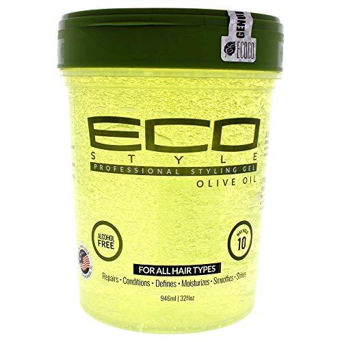 Eco Style Gel de peinado con aceite de oliva Ampliación de