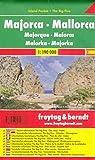 Mallorca, mapa de carreteras de bolsillo plastificado, Island Pocket. Escala...