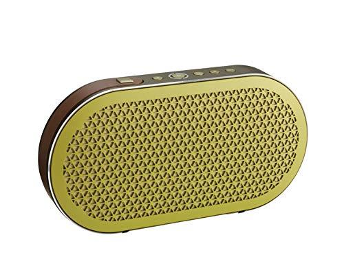 Dali - Katch Portable Bluetooth Lautsprecher - Kompakt - Akku-Spielzeit: 24 Stunden - Maximaler Schalldruckpegel: 95 dB - Aluminium-Konus mit Stoff-Staubschutzkappe - Farbe: Green Moss