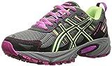 ASICS Women's Gel-venture 5 Running Shoe, Titanium/Pistachio/Pink Glow, 7.5 M US
