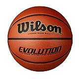 Wilson Evolution Game Basketball, Black, Official Size - 29.5' (WTB0516R), Original