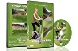 Virtual Cycle Rides DVD - Andorra - for Indoor Cycling, Treadmill and Running Workouts