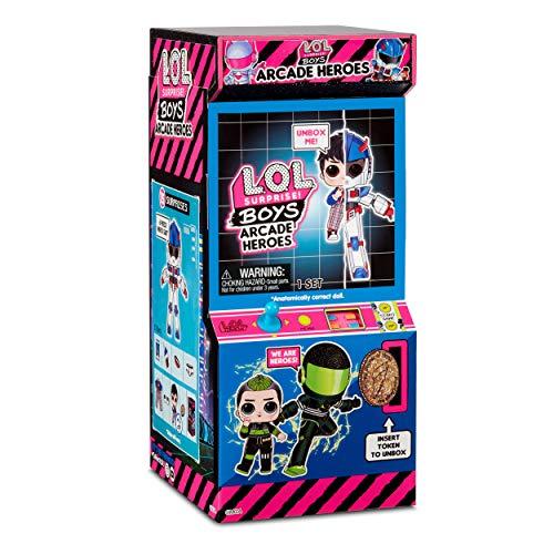Image 5 - LOL Surprise Garçons Héros d'Arcade - Figurine d'action - Avec 15 surprises, costumes de héros 6 pièces & accessoires