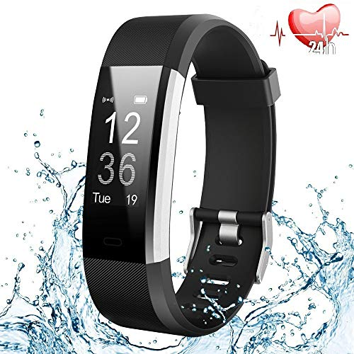 Smartwatch Braccialetto Fitness Activity Tracker Smart Watch per Android iOS Orologio...