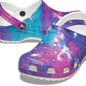 Crocs Men's and Women's Classic Tie Dye Clog | Comfortable Slip on Water Shoes