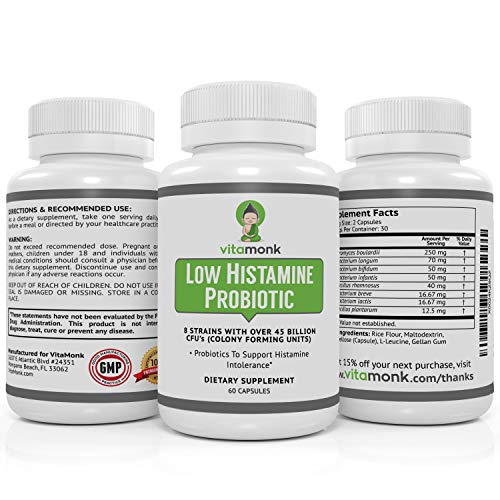 Low Histamine Probiotics by Biovy™ - Fight Histamine Intolerance and Support Balanced Gut Health - Histamine Free Probiotic for Those Seeking Health Improvements with Histamine Control - 60 Capsules 9