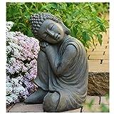 INtrenDU Bouddha Statuette Chinois 43 cm décoration Zen pour intérieur...