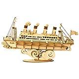 Rolife 3D Puzzle Cruise Ship Maquette Bois Jouets Kits de...