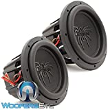 Pair of Soundstream T5.102 10' 1800W RMS Dual 2-Ohm T5 Series Subwoofers