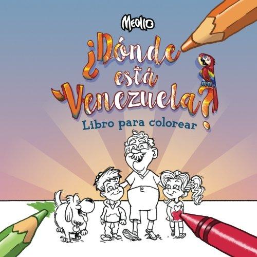 Donde esta Venezuela?: Para Colorear