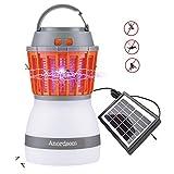Anordsem Lampe de Camping LED Rechargeable UV avec Fonction Bug Zapper Chargeur USB...