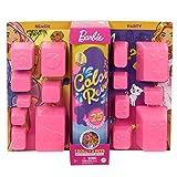 Barbie- Ultimate Color Reveal Bambola con 25 Sorprese, 2 Cuccioli, 15 Sacchettini con Abiti e Accessori, Modelli Assortiti, Giocattolo per Bambini 3+Anni, GPD55