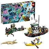 LEGO - Hidden Side Il Peschereccio Naufragato Set di Costruzione, Set per la Realtà Aumentata per iPhone/Android, 70419