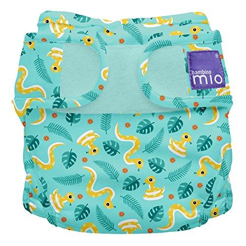 Bambino Mio, miosoft windelüberhose, dschungel schlange, Größe 2 (9kg+)