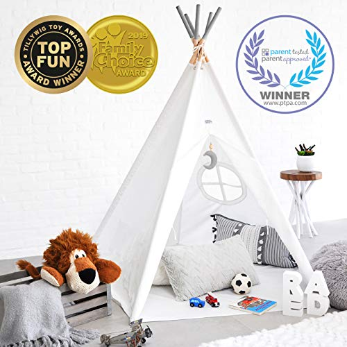 Hippococo Teepee Tent for Kids (Grey)