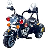 3 Wheel Chopper Trike Motorcycle for Kids, Battery Powered Ride On Toy by Lil' Rider  Ride on Toys for Boys and Girls, Toddler and Up - Black