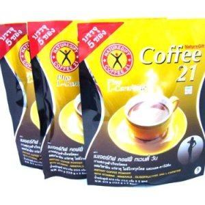 3x Naturegift Instant Coffee Mix 21 Plus L-carnitine Slimming Weight Loss Diet Made in Thailand 3 - My Weight Loss Today
