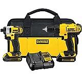 DEWALT 20V MAX Cordless Drill Combo...