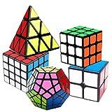 Coolzon Speed Cube Rubiscube, Ensemble de Cubes 2x2 3x3 4x4 Pyraminx Pyramide...