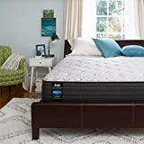 Sealy Response Performance 13-Inch Plush Pillow Top, Full Bed Mattress Conventional, White