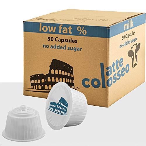 Latte Colosseo - 50 Cápsulas Compatibles Dolce Gusto (Leche