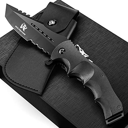 Wolfgangs UNDIQUE Einhand-Messer/Survival-Messer mit...