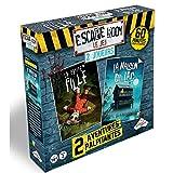 RIVIERA GAMES Escape Room Le Jeu - Coffret 2 Joueurs Horreur
