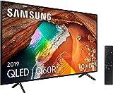 Samsung QLED 4K 2019 55Q60R - Smart TV de 55' con Resolución 4K UHD, Supreme Ultra Dimming, Q HDR, Inteligencia Artificial 4K, One Remote Control, Apple TV y compatible con Alexa