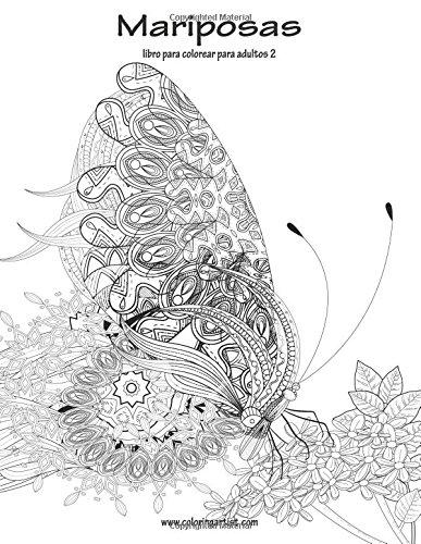 Mariposas libro para colorear para adultos 2: Volume 2