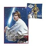 Star Wars Star Wars - Fleece blanket 100 x 150 cm + pillow 40 x 40 cm Luke Skywalker - A New Hope - C3PO R2D2
