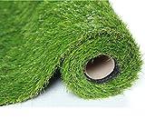 SUMC Gazon artificiel Gazon synthétique de gazon de gazon d'herbe de pelouse d'herbe exterieur de balcon d'intérieur de Faux pour des animaux de jardin Chiens Hauteur de 30mm (1m × 2m)