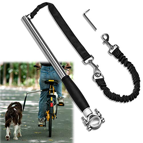 Unicam Retractable Bicycle Dog Leash, Hands Free...