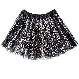Resinta Spider Web Ballet Tutu Skirt Girls Ballet Dress Princess Skirt for Halloween Party Dress