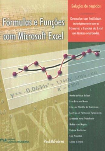 Fórmulas y funciones con Microsoft Excel