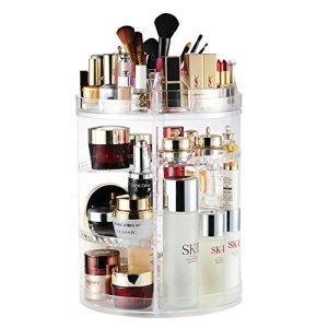 Makeup Organizer, 360 Degree Rotating Adjustable Cosmetic Storage Display Case with 8 Layers Large Capacity, Fits… 38