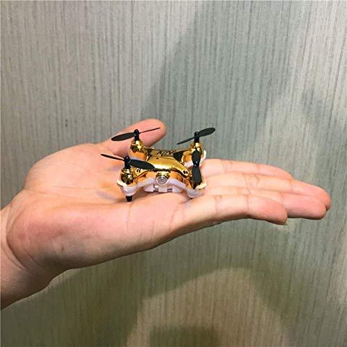 ZCZZ Mini Pocket Drone novit X20 Headless Mode 2.4Ghz Nano LED RC Quadcopter Altitude Hold 500w Pixel Multi-Protection Drone per Bambini e Principianti per Giocare Indoor-Red