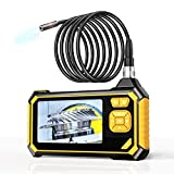 Industrial Endoscope,YINAMA 1.6-198inch Focal Distance Digital Semi-rigid...