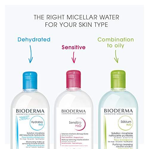 Bioderma - Sensibio H2O - Micellar Water - Cleansing and Make-Up Removing - Refreshing feeling - for Sensitive Skin 7