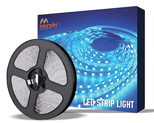 Murphy 25W LED Strip 2835 Cove Light 5 Metre (Blue, Pack of 1) with Driver