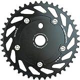 Haro Uni Directional BMX Bike Sprocket Chainring 44T (Black/Black)
