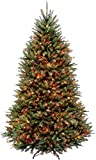 National Tree Company lit Artificial Christmas Tree Includes Pre-Strung Multi-Color Stand, 6.5 ft, Multicolored Lights