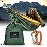 PURE HANG Premium Camping Hängematte Outdoor XXL für...